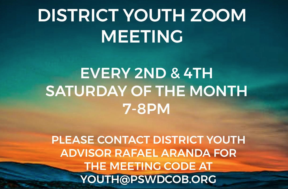 Youth Zoom Meeting